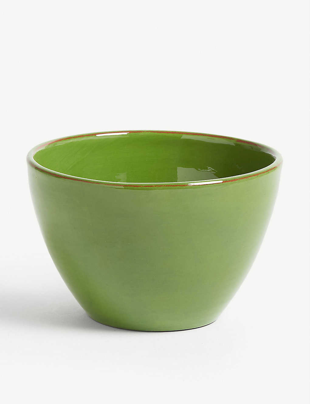 ARGILE ET COULEURS: Condamine terracotta cereal bowl