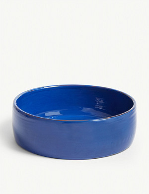 ARGILE ET COULEURS Mini low serving bowl 25.5cm