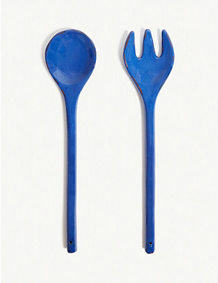 ARGILE ET COULEURS: Serving spoons