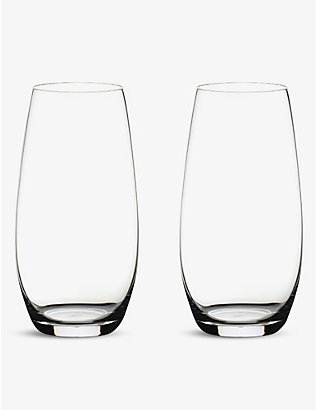 RIEDEL: Champagne tumbler twin-pack