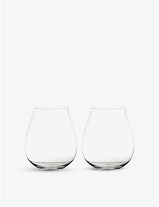 RIEDEL: Pinot Noir wine glass twin-pack