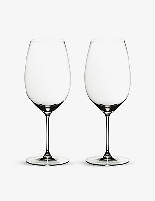 RIEDEL: Veritas New World Shiraz glass set