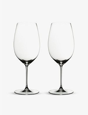 RIEDEL Veritas New World Shiraz glass set