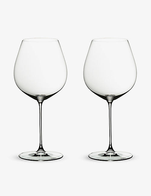 RIEDEL: Veritas Old World Pinot Noir glass twin-pack