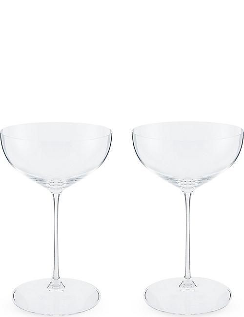 RIEDEL Veritas Coupe glass pair