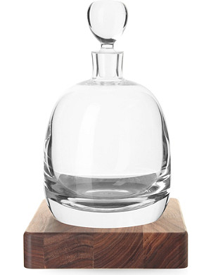 LSA Islay whisky decanter and base