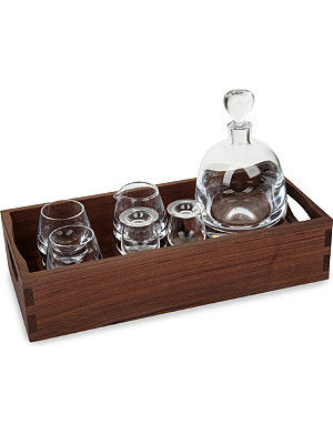LSA Islay whisky connoisseur set and tray