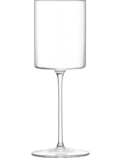 LSA: Otis white wine glasses set of four