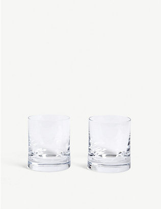 LSA: Gin glass tumblers set of two