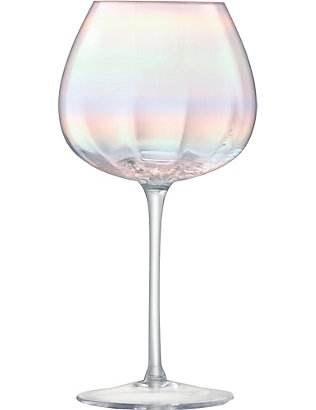 LSA: Pearl set of four red wine glasses