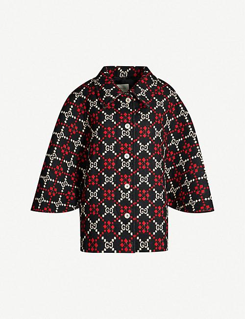 7550d5844df0 GUCCI - Coats   jackets - Clothing - Womens - Selfridges