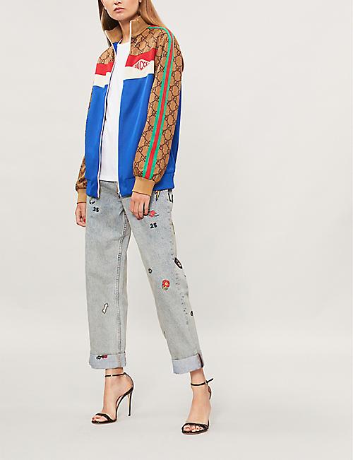 8b5e83331 GUCCI - Coats & jackets - Clothing - Womens - Selfridges   Shop Online