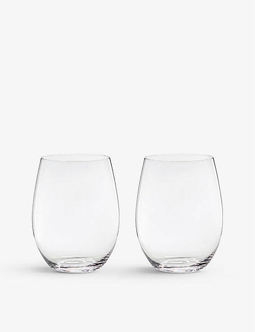 RIEDEL: O Cabernet/Merlot glass tumblers set of two