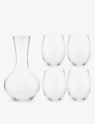 RIEDEL: O Cabernet/Merlot glass wine tumblers set of four