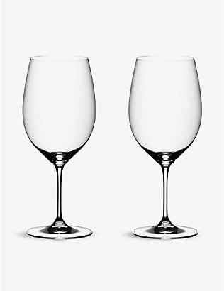 RIEDEL: Vinum Bordeaux Port glasses set of two