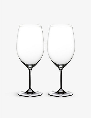 RIEDEL: Vinum Syrah glasses pair