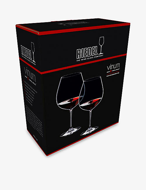 RIEDEL Vinum burgundy glasses pair