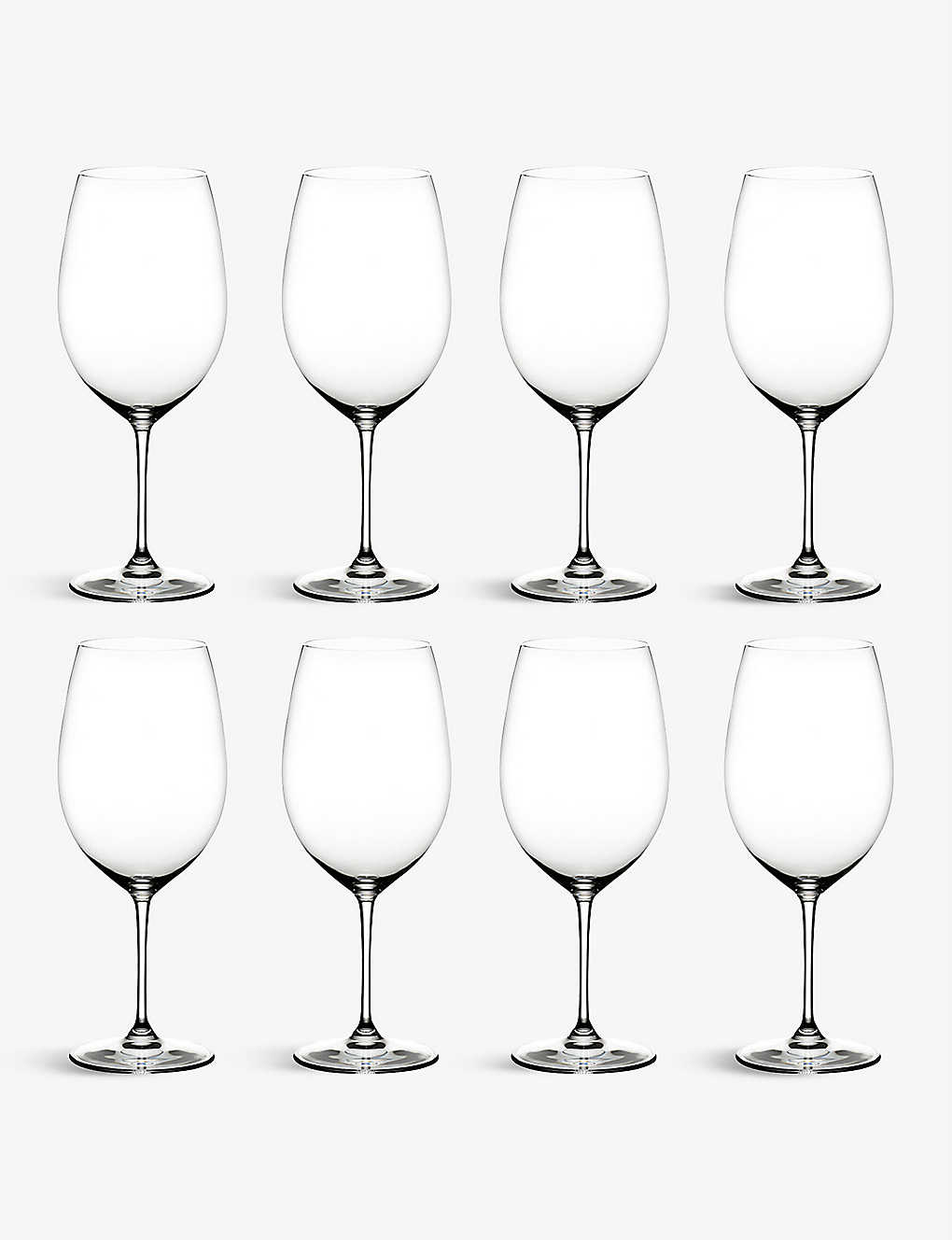 RIEDEL: Vinum Bordeaux glasses set of eight