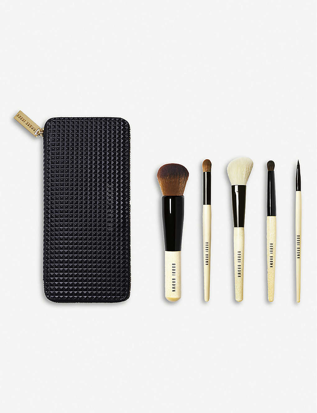Brown com - Brushes Bobbi Five Of Make-up Set Selfridges