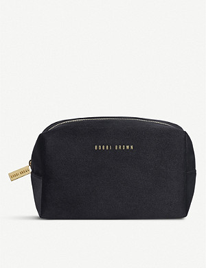 BOBBI BROWN Faux-leather make-up bag