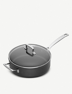 LE CREUSET Toughened Non-Stick sauté pan with lid 26cm