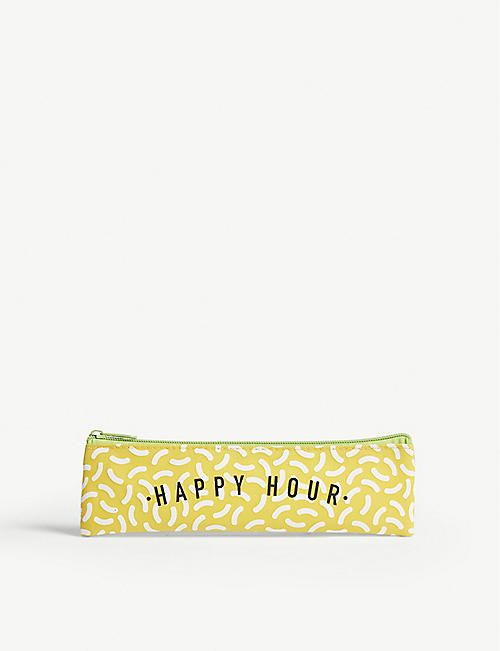 SUCK IT Happy Hour metal straw and cleaner set