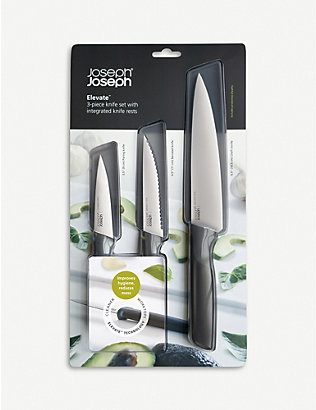 JOSEPH JOSEPH: Elevate three-piece knife set