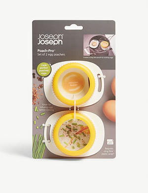 JOSEPH JOSEPH Poach-Pro set of two egg poachers