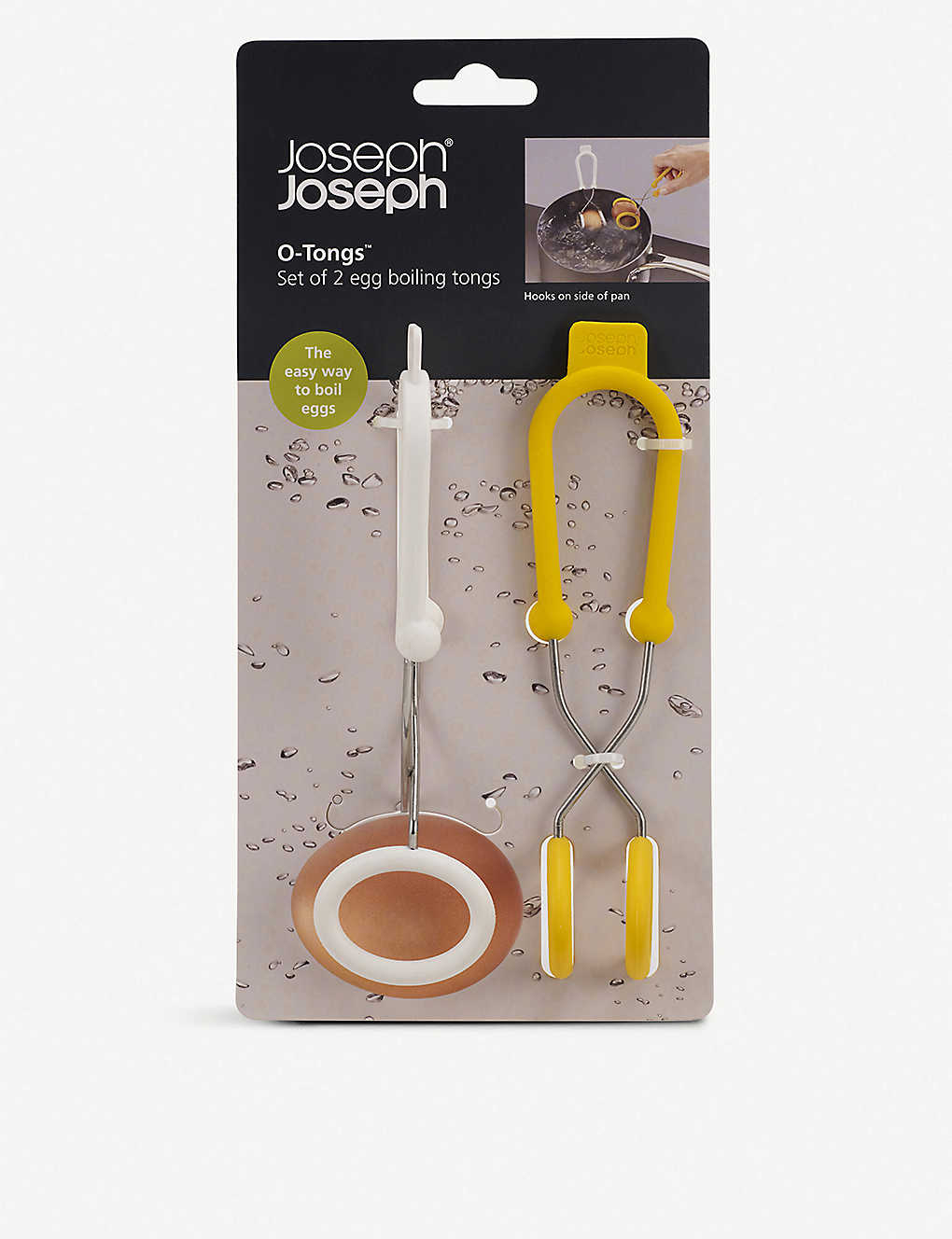 JOSEPH JOSEPH: Boiled Egg O-Tongs, set of two