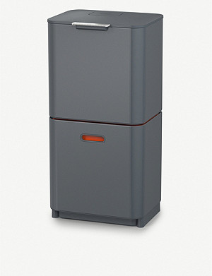 JOSEPH JOSEPH Totem Max 60L waste and recycling bin