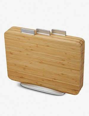 JOSEPH JOSEPH Index bamboo three-piece chopping board set