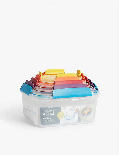 JOSEPH JOSEPH: Nest five piece storage containers
