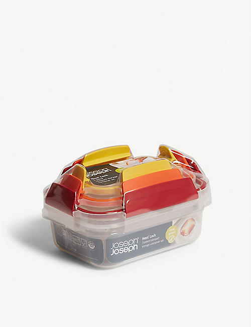 JOSEPH JOSEPH: 3 Piece nest lock container set