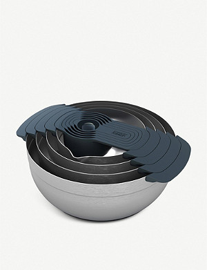 JOSEPH JOSEPH Nest 100 stainless steel nesting bowl set of nine
