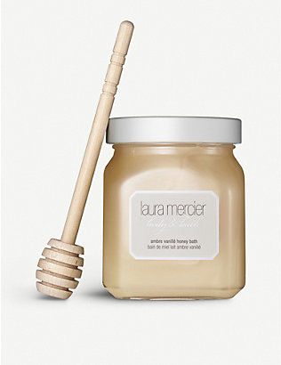 LAURA MERCIER: Ambre Vanillé honey bath 300g