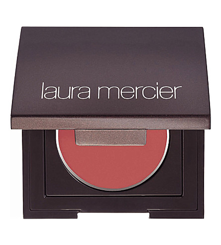 About Laura Mercier Laura Mercier is a high-end line of cosmetics designed for experienced and mature women. This full line of cosmetics has everything from lip stain to longwearing foundation.
