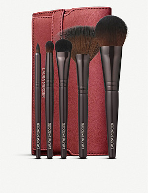 LAURA MERCIER Luxe Brush Collection set of five