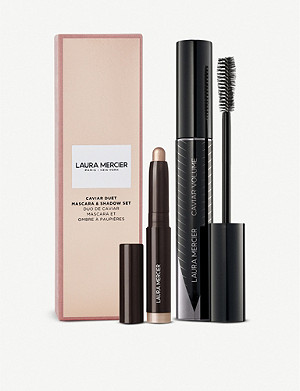 LAURA MERCIER Caviar Duet mascara and eyeshadow set