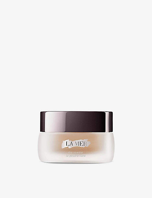 LA MER: The Powder translucent loose powder 8g