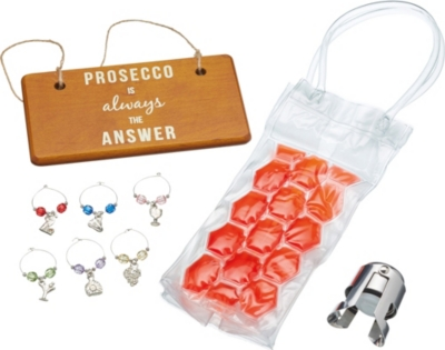 KITCHEN CRAFT Barcraft prosecco gift set