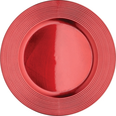 KITCHEN CRAFT Lacquered charger plate 33cm