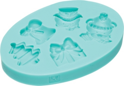 KITCHEN CRAFT Christmas silicone fondant mould