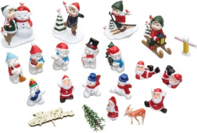 KITCHEN CRAFT Christmas cake decorations