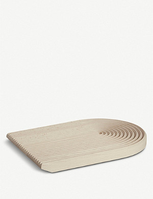HAY Field rounded wooden bread board