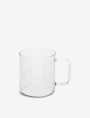 HAY Glass coffee mug