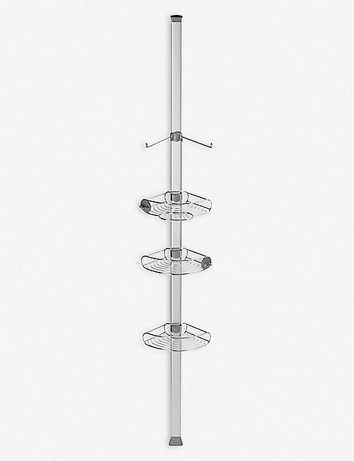 SIMPLE HUMAN: Tension stainless steel shower caddy