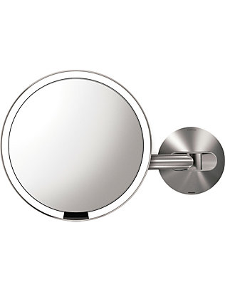 SIMPLE HUMAN: Wall-mount illuminated sensor mirror