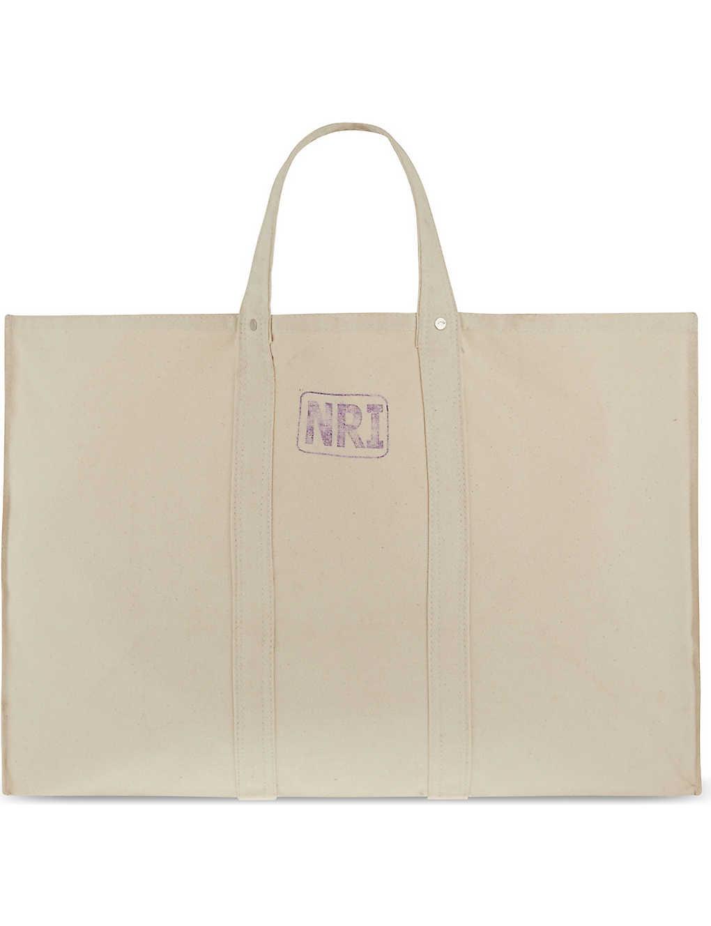 90c43080e PUEBCO - Large canvas labour tote bag | Selfridges.com