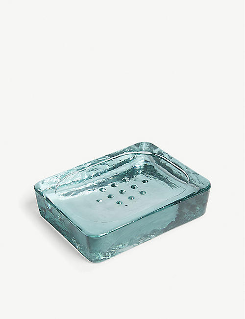 GARDEN TRADING Glass soap dish 12cm