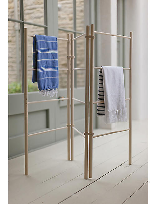GARDEN TRADING Zig zag wooden clothes dryer